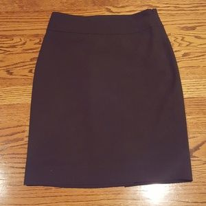 The Limited. Adorable Black Pencil Skirt. Size 0